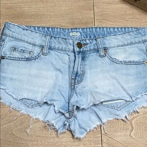 BDG low rise denim shorts